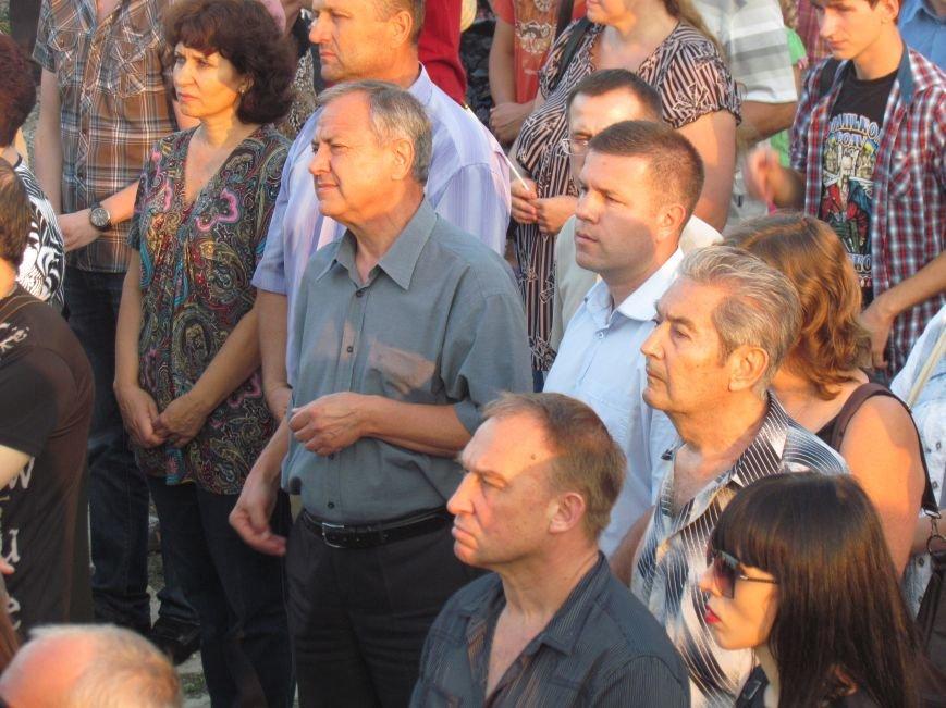 В Мариуполе на митинге за мир пели гимн Украины, молились и записывались в «живой щит» (ДОПОЛНЕНО+ФОТО+ВИДЕО), фото-15