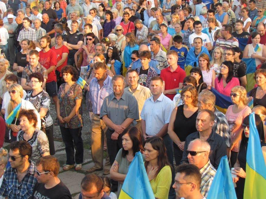 В Мариуполе на митинге за мир пели гимн Украины, молились и записывались в «живой щит» (ДОПОЛНЕНО+ФОТО+ВИДЕО), фото-19