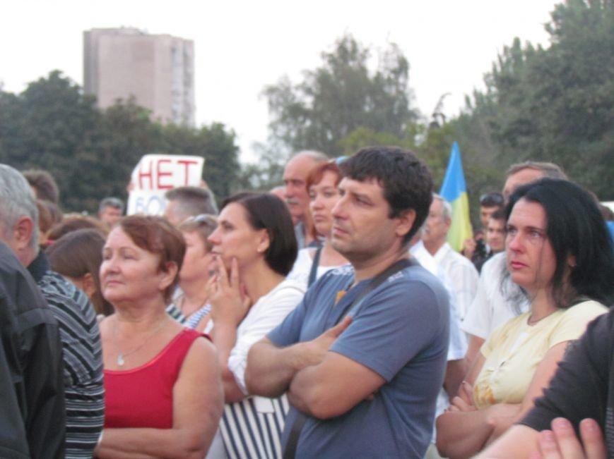 В Мариуполе на митинге за мир пели гимн Украины, молились и записывались в «живой щит» (ДОПОЛНЕНО+ФОТО+ВИДЕО), фото-31