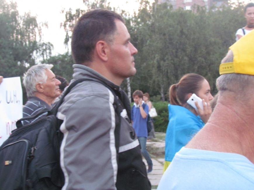 В Мариуполе на митинге за мир пели гимн Украины, молились и записывались в «живой щит» (ДОПОЛНЕНО+ФОТО+ВИДЕО), фото-34