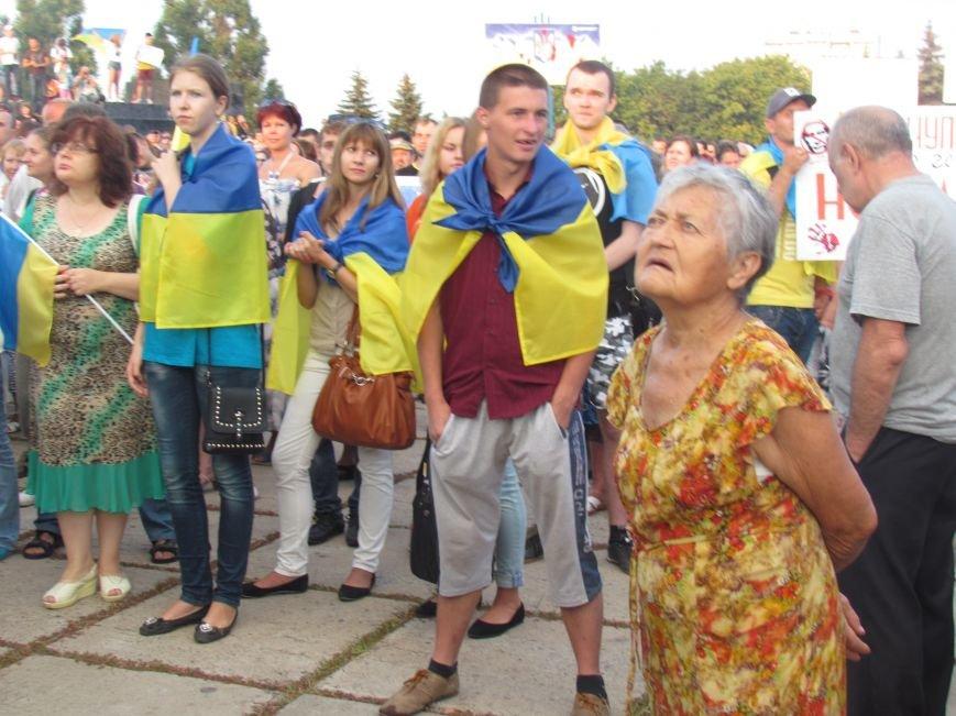 В Мариуполе на митинге за мир пели гимн Украины, молились и записывались в «живой щит» (ДОПОЛНЕНО+ФОТО+ВИДЕО), фото-22