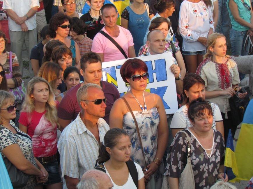 В Мариуполе на митинге за мир пели гимн Украины, молились и записывались в «живой щит» (ДОПОЛНЕНО+ФОТО+ВИДЕО), фото-11