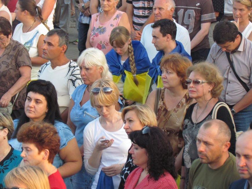 В Мариуполе на митинге за мир пели гимн Украины, молились и записывались в «живой щит» (ДОПОЛНЕНО+ФОТО+ВИДЕО), фото-13