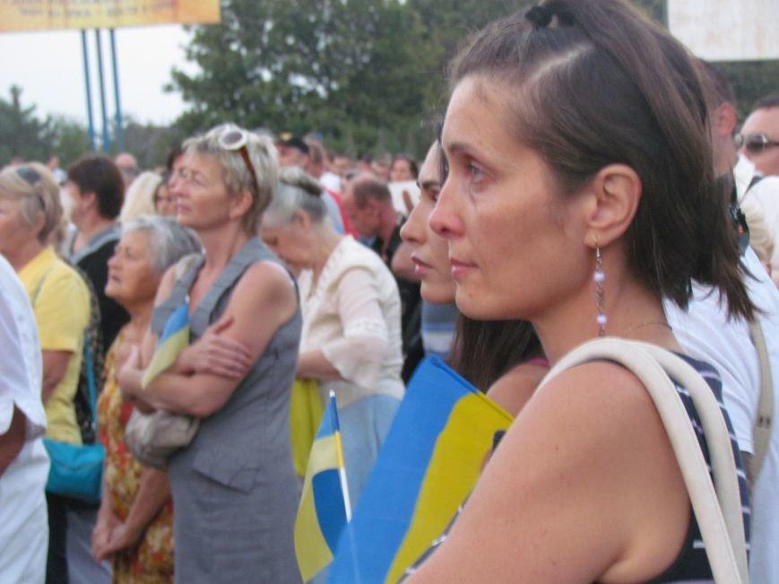 В Мариуполе на митинге за мир пели гимн Украины, молились и записывались в «живой щит» (ДОПОЛНЕНО+ФОТО+ВИДЕО), фото-32