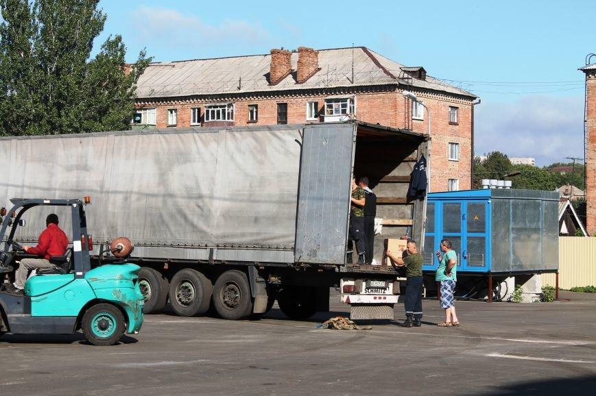 В Артемовск прибыли фуры с гуманитарным грузом, фото-1