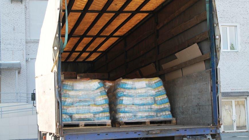 В Артемовск прибыли фуры с гуманитарным грузом, фото-3