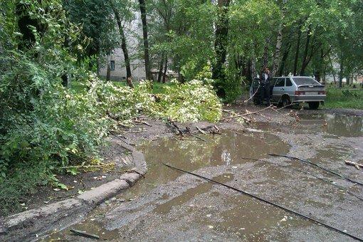 Последствия шторма: что происходит на улицах города, фото-2
