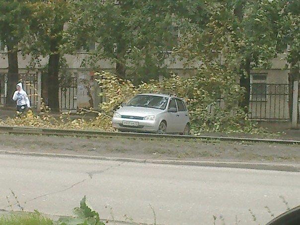 Последствия шторма: что происходит на улицах города, фото-1