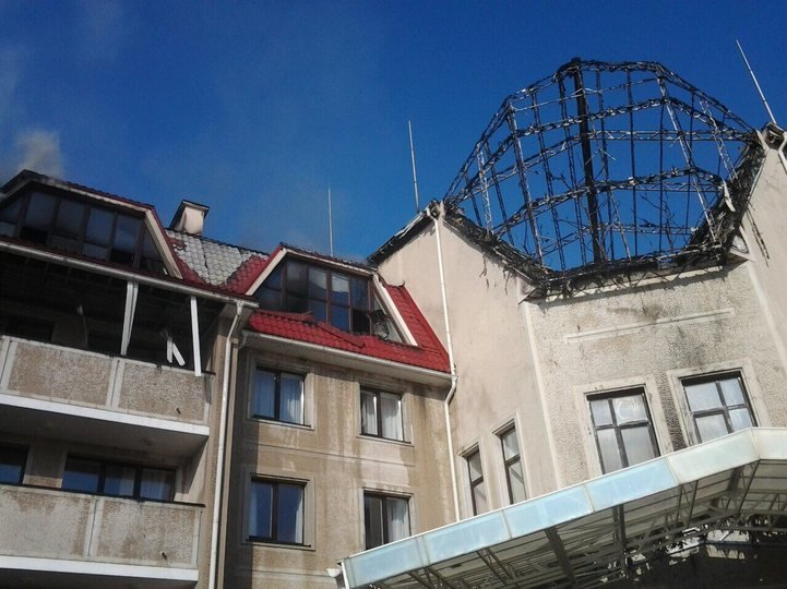 В результате прямого попадания снарядов уничтожена база «Шахтера» (ФОТО), фото-2