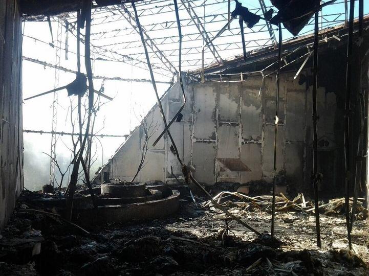 В результате прямого попадания снарядов уничтожена база «Шахтера» (ФОТО), фото-3