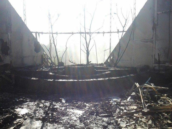 В результате прямого попадания снарядов уничтожена база «Шахтера» (ФОТО), фото-1