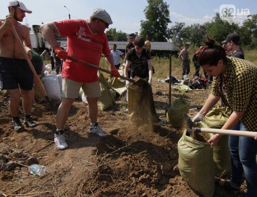 Жители Мариуполя активно готовят город к отражению штурма российской армии (ФОТО+ВИДЕО), фото-1
