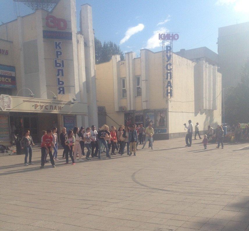 Субботний флэшмоб в Заволжье, фото-4