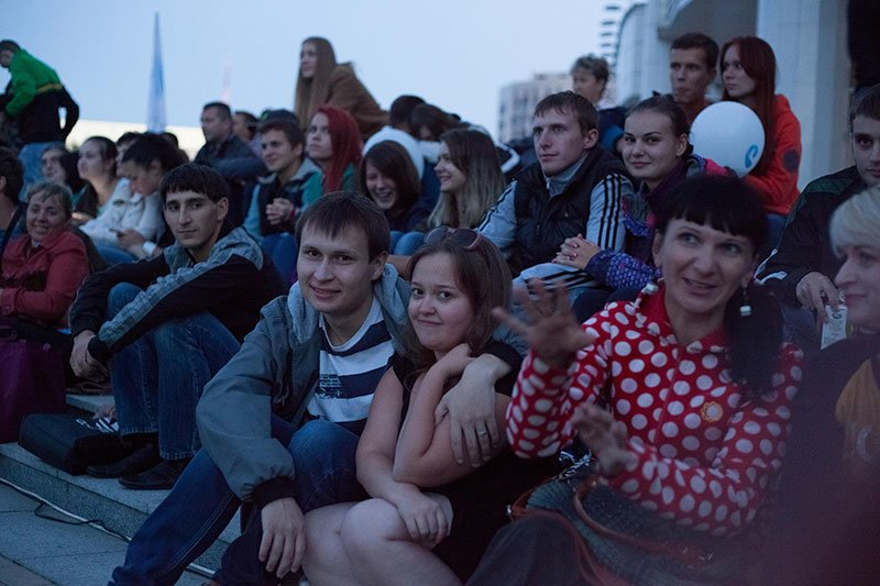 Несколько сотен белгородцев пришли посмотреть фильм «Поддубный» под открытым небом, фото-3