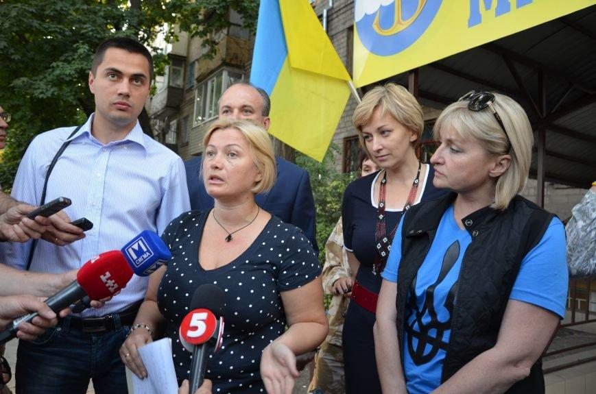 В Мариуполь прибыла уполномоченный президента Украины по мирному урегулированию конфликта на Востоке Ирина Геращенко (ФОТО), фото-3
