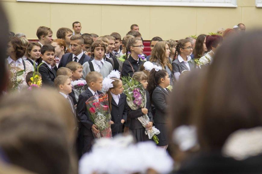 Как прошло 1 сентября: школьный фотоотчет, фото-11