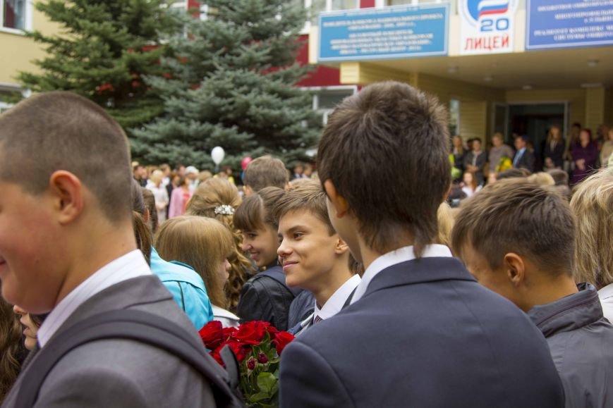Как прошло 1 сентября: школьный фотоотчет, фото-9