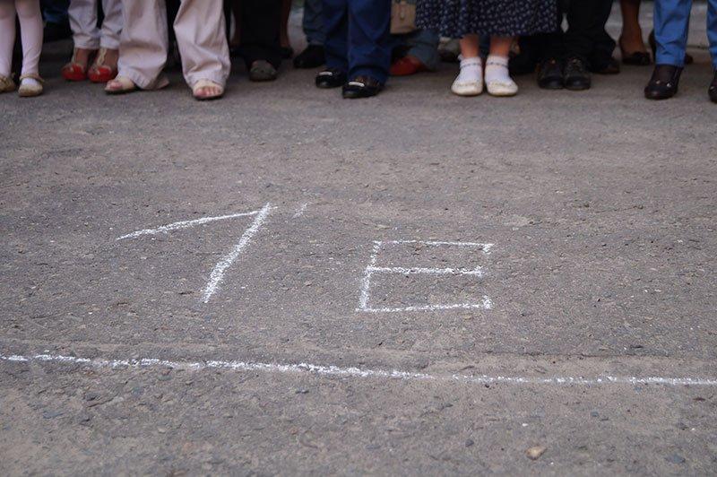День знаний в Белгороде: В 45-ю школу пришли учиться 147 первоклассников и появился класс с буквой «Е» (фото) - фото 2