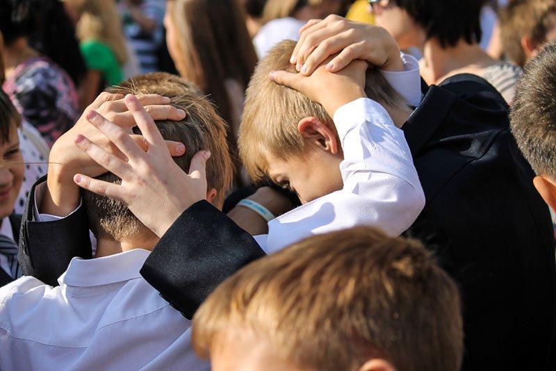 День знаний в Белгороде: В 45-ю школу пришли учиться 147 первоклассников и появился класс с буквой «Е» (фото) - фото 10