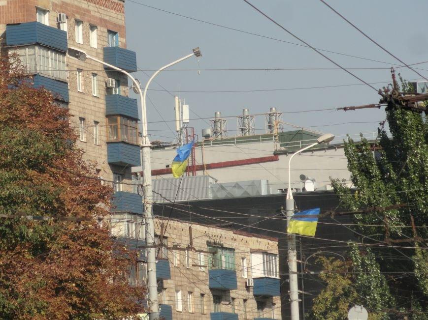 В Мариуполе сегодня появились новые флаги (ФОТО), фото-4