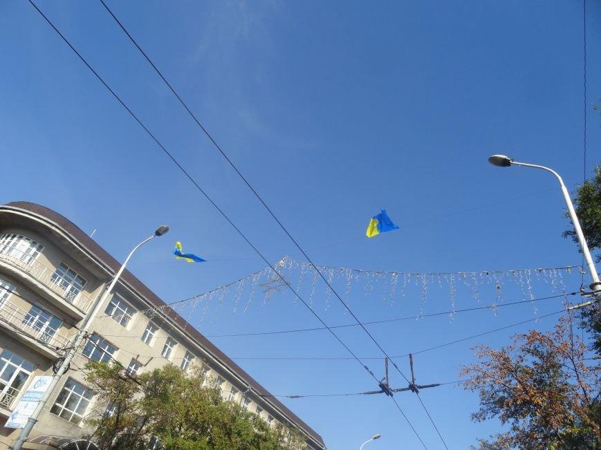 В Мариуполе сегодня появились новые флаги (ФОТО), фото-2
