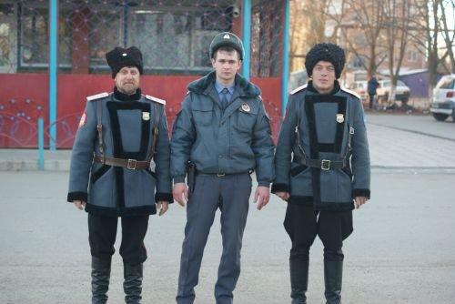 казаки и полиция