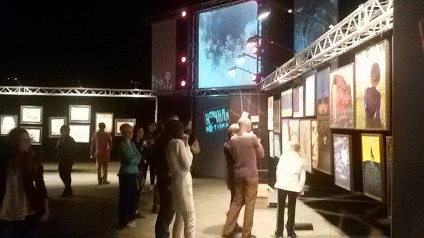 «Ночная выставка» Ренато Ортиса покорила сердца криворожан (фото) - фото 1