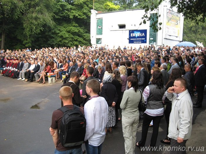 У неділю в НУВГП відбулася посвята першокурсників у студенти (Фото), фото-3
