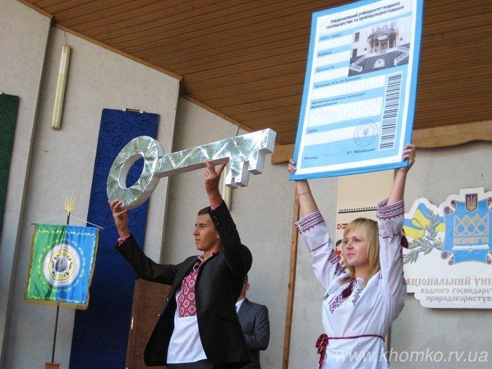 У неділю в НУВГП відбулася посвята першокурсників у студенти (Фото), фото-14