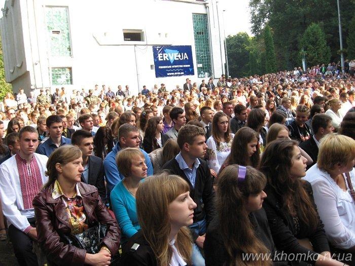 У неділю в НУВГП відбулася посвята першокурсників у студенти (Фото), фото-8