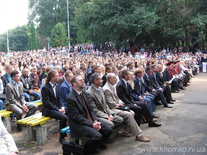 У неділю в НУВГП відбулася посвята першокурсників у студенти (Фото), фото-11