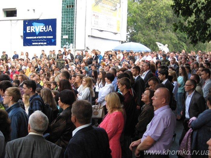У неділю в НУВГП відбулася посвята першокурсників у студенти (Фото), фото-4