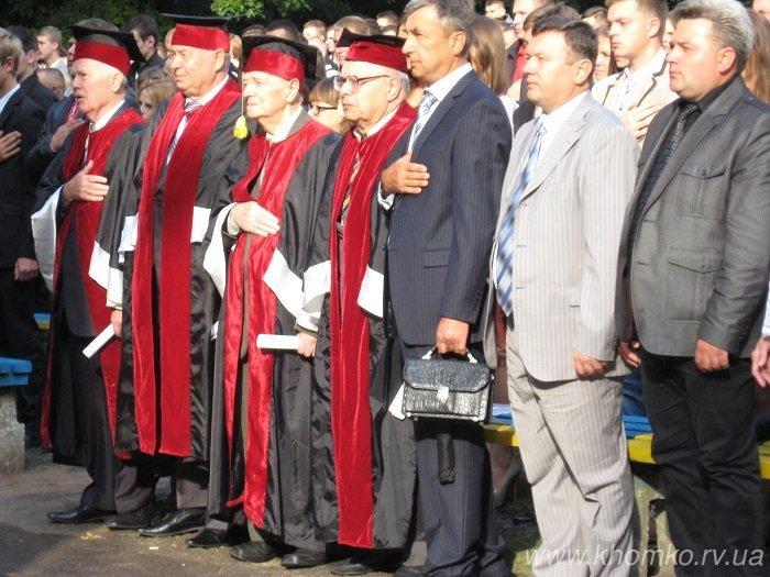 У неділю в НУВГП відбулася посвята першокурсників у студенти (Фото), фото-6