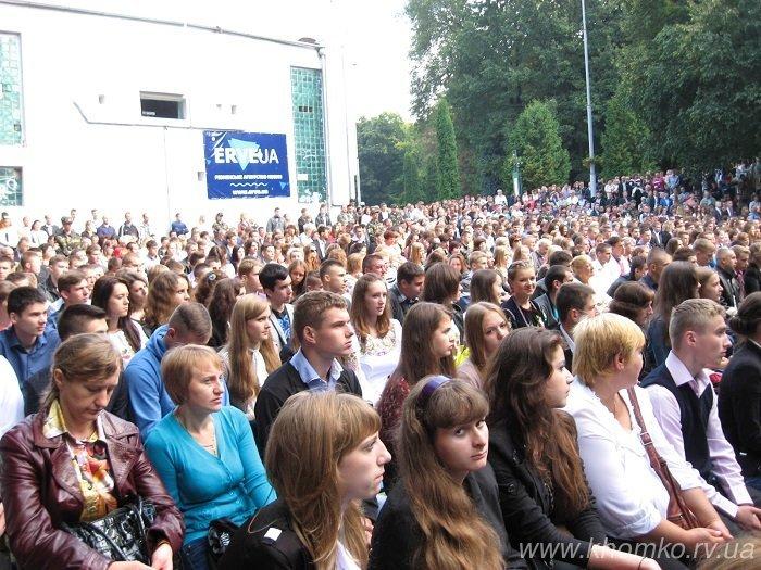 У неділю в НУВГП відбулася посвята першокурсників у студенти (Фото), фото-12