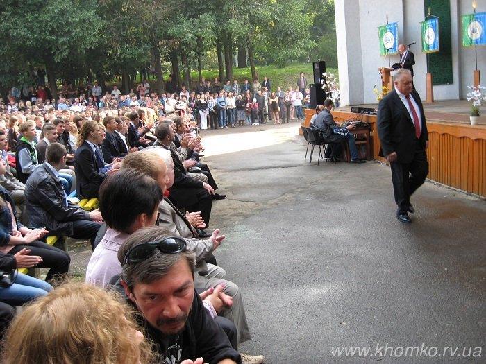 У неділю в НУВГП відбулася посвята першокурсників у студенти (Фото), фото-9