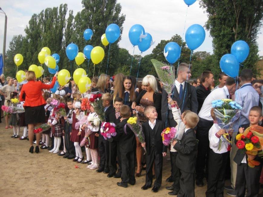 В Черниговском лицее №15 первый звонок дали для всей Украины, фото-6