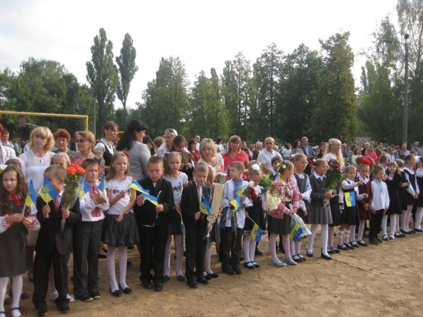 В Черниговском лицее №15 первый звонок дали для всей Украины, фото-5