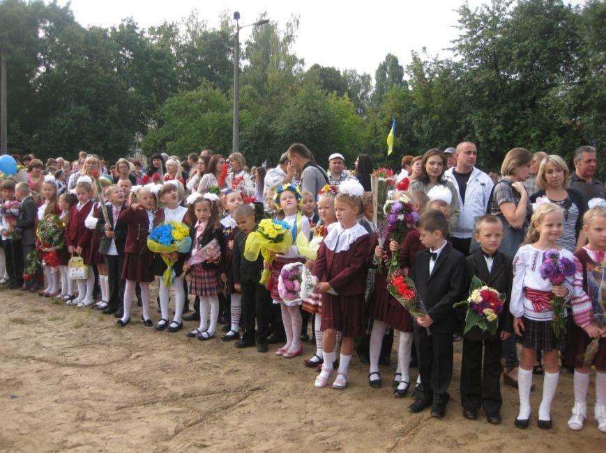 В Черниговском лицее №15 первый звонок дали для всей Украины, фото-2