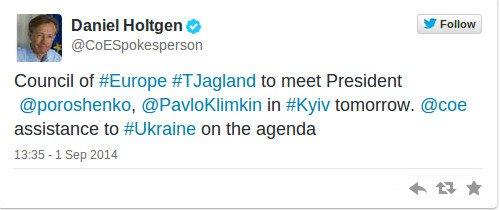 Сегодня в Киев приедет Генсек Совета Европы  Торбьерн Ягланд, фото-1