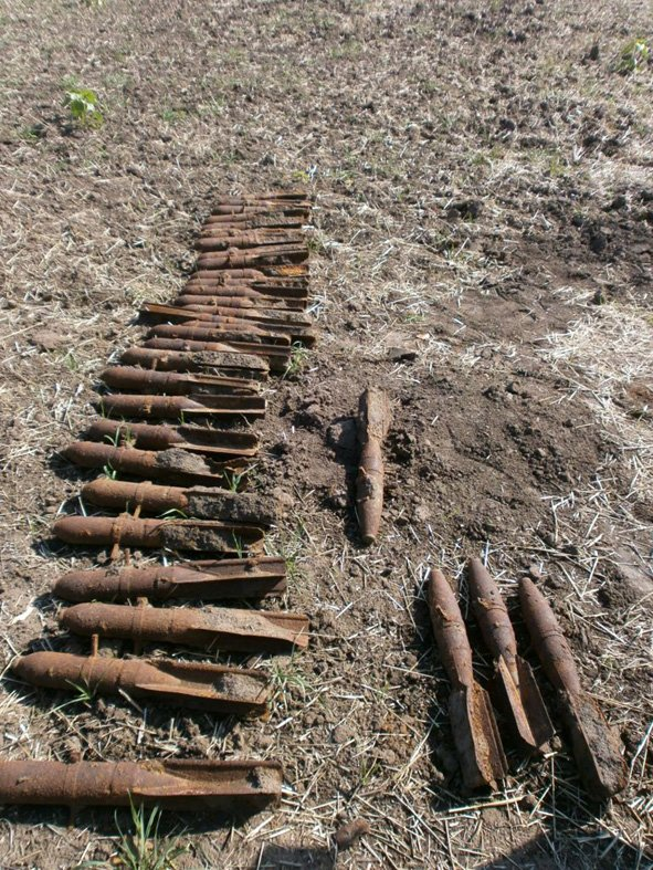 На Полтавщине был обнаружен склад авиационных бомб (ФОТО), фото-1