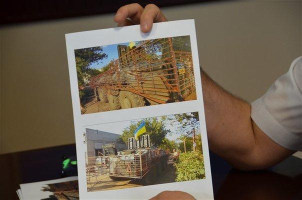 Кременчугское предприятие-волонтёр изготавливает защитные экраны для бронетранспортёров (ФОТО), фото-2