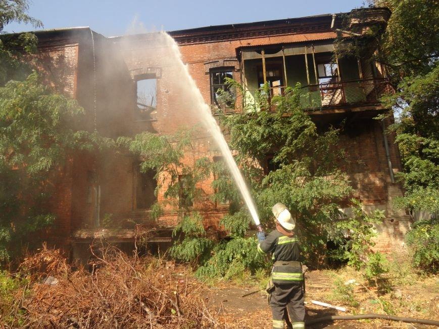 Пожар уничтожил архитектурную достопримечательность Мариуполя (ФОТО), фото-1