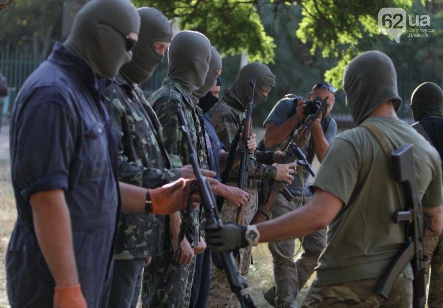 В Мариуполе инструкторы батальона «Азов» готовят горожан к отражению российской агрессии (ФОТО, ВИДЕО), фото-6