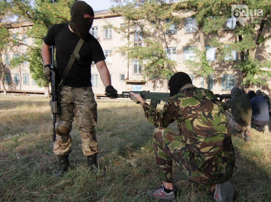 В Мариуполе инструкторы батальона «Азов» готовят горожан к отражению российской агрессии (ФОТО, ВИДЕО), фото-2
