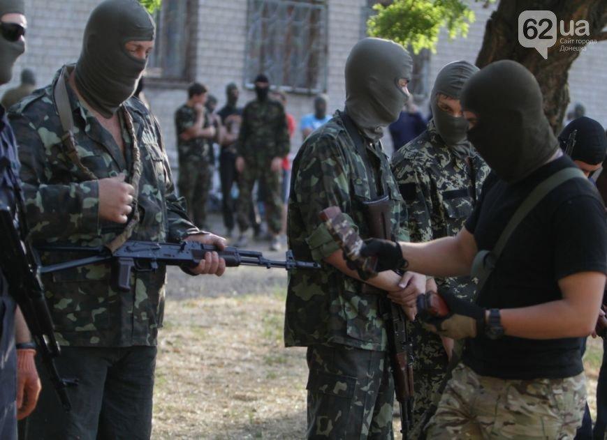 В Мариуполе инструкторы батальона «Азов» готовят горожан к отражению российской агрессии (ФОТО, ВИДЕО), фото-5