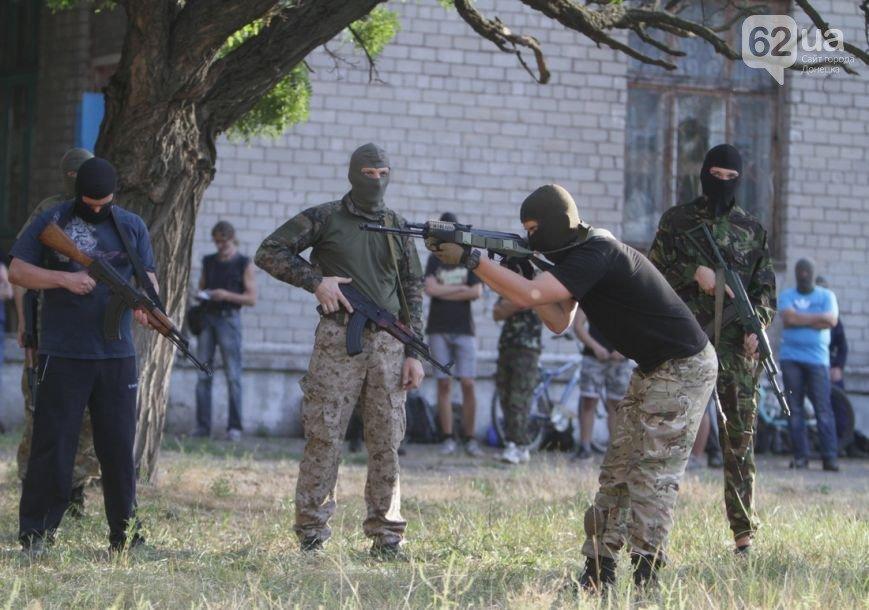 В Мариуполе инструкторы батальона «Азов» готовят горожан к отражению российской агрессии (ФОТО, ВИДЕО), фото-4