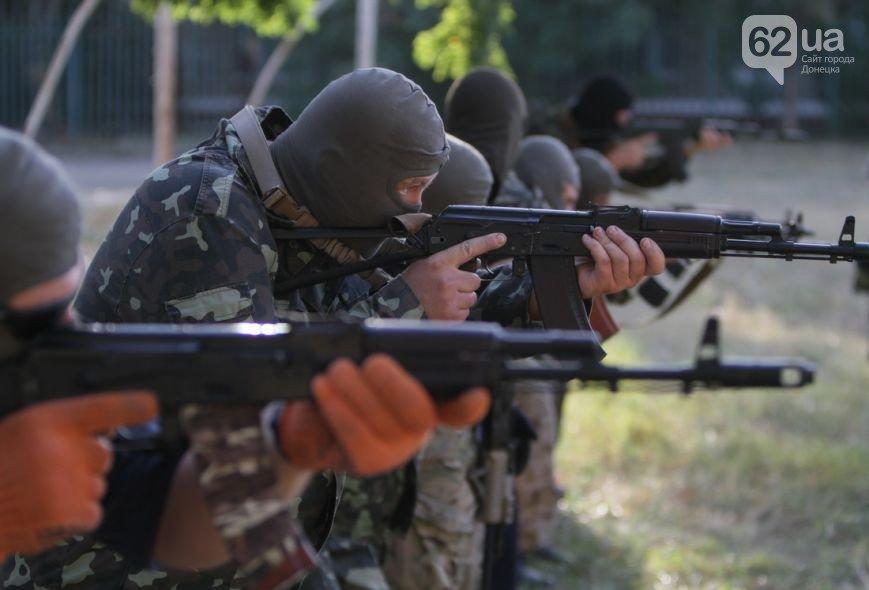 В Мариуполе инструкторы батальона «Азов» готовят горожан к отражению российской агрессии (ФОТО, ВИДЕО), фото-3