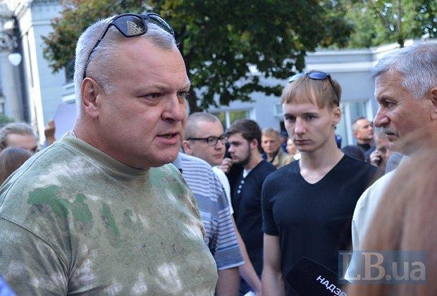 Добровольцы из «Днепра-1» пикетируют Администрацию Президента (ФОТО), фото-7
