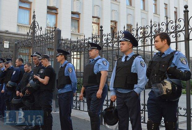 Добровольцы из «Днепра-1» пикетируют Администрацию Президента (ФОТО), фото-20