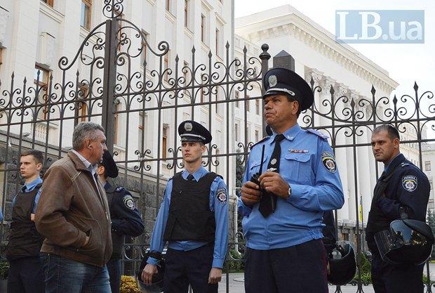 Добровольцы из «Днепра-1» пикетируют Администрацию Президента (ФОТО), фото-21